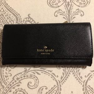 Kate Spade leather wallet-new with tags
